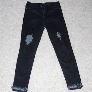 Ankle & cut Fashion Nova jeans